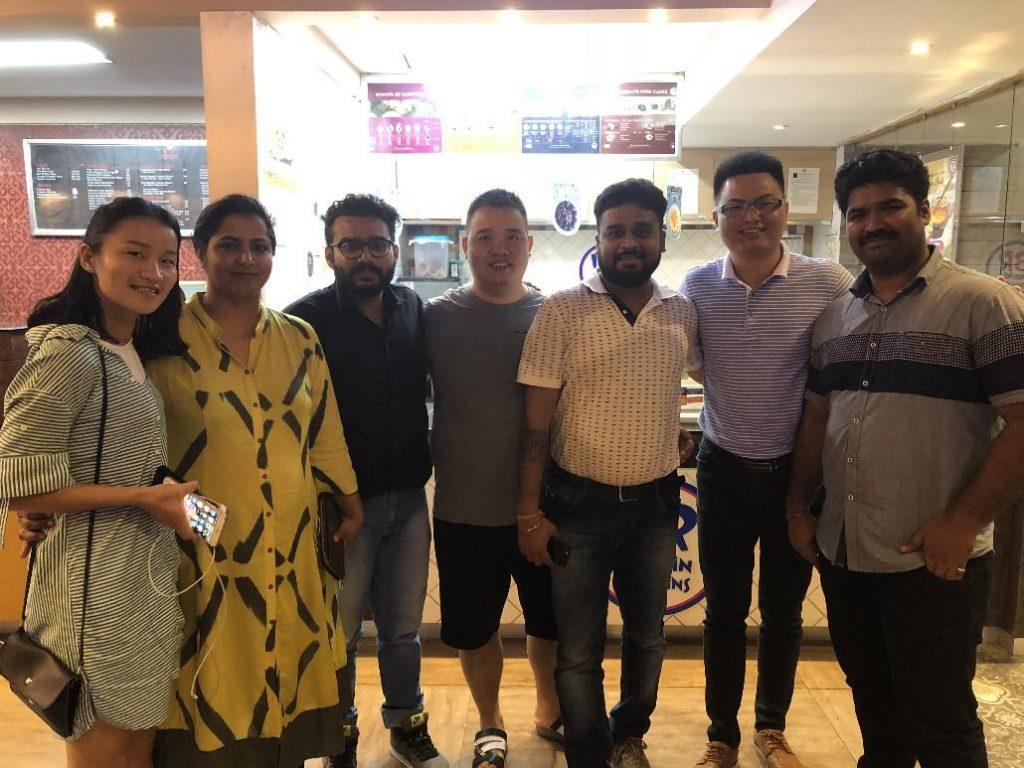 RJC Mold Staff Visit New Delhi Customers